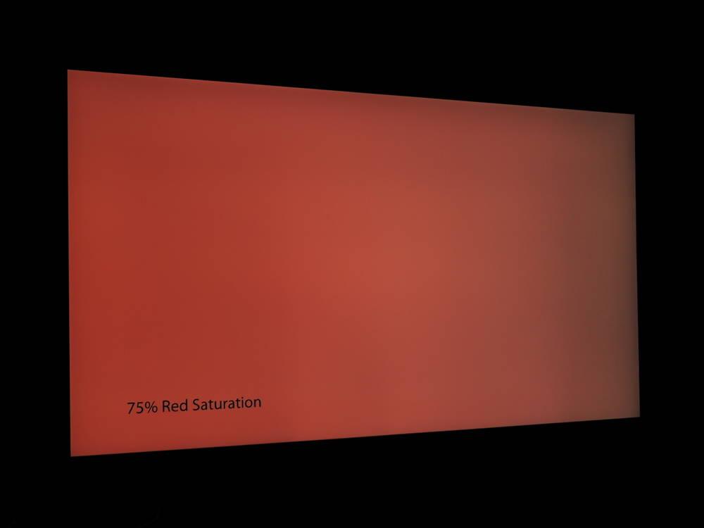 plansza nasyconej w 75% czerwieni