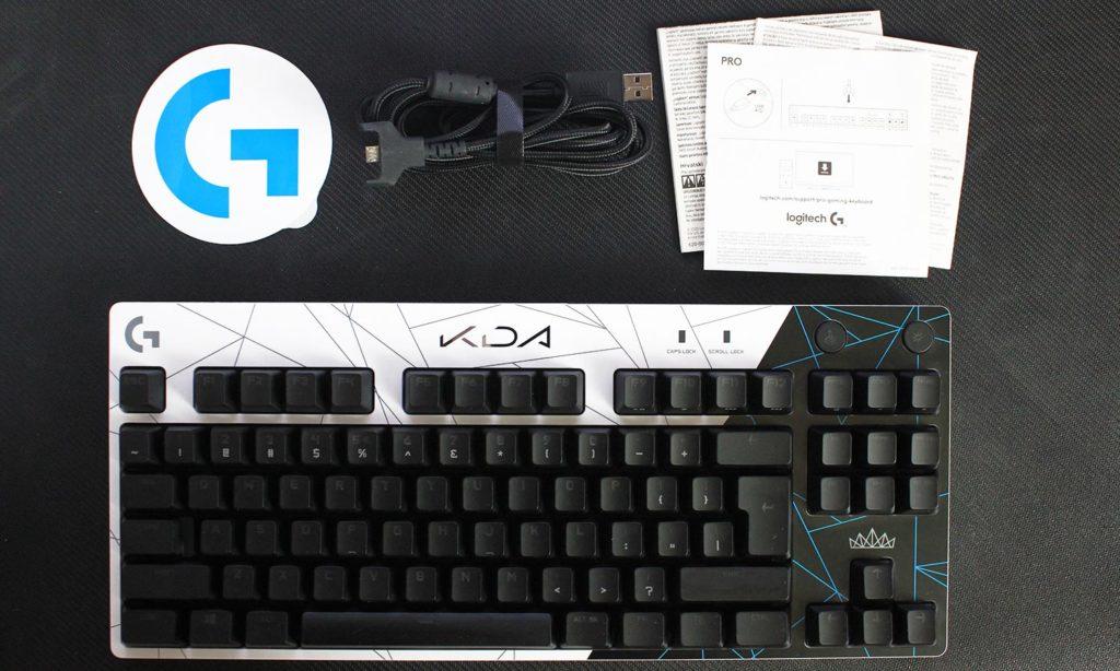 unboxing klawiatury dla graczy logitech g pro k/da