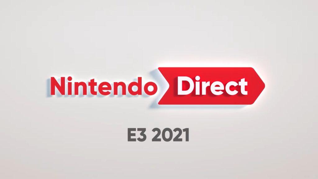 logo nintendo direct na e3 2021