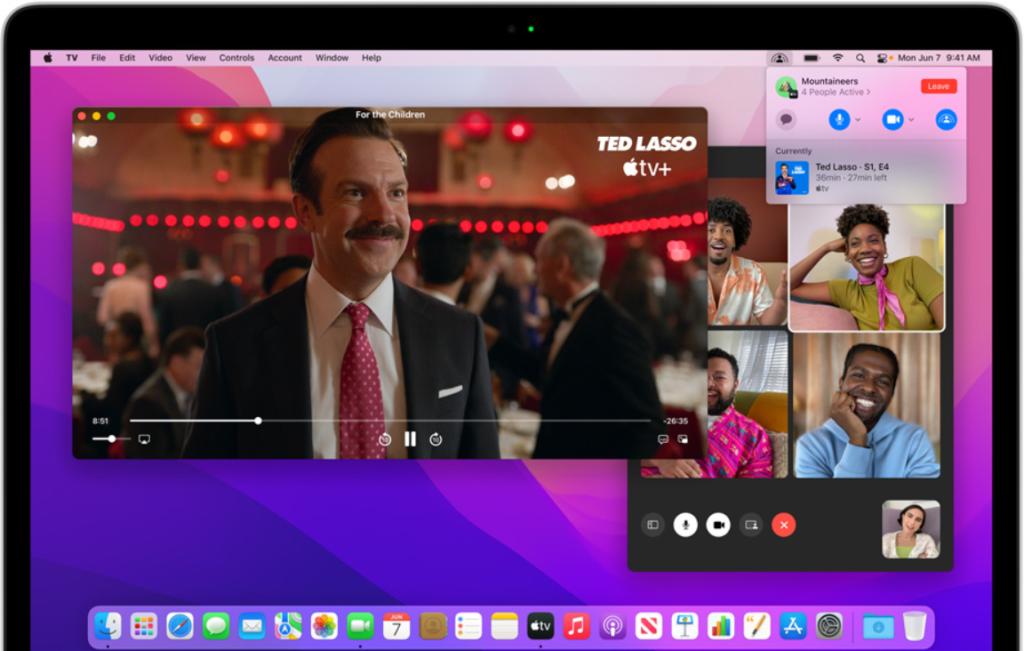 macOS 12 Monterey FaceTime