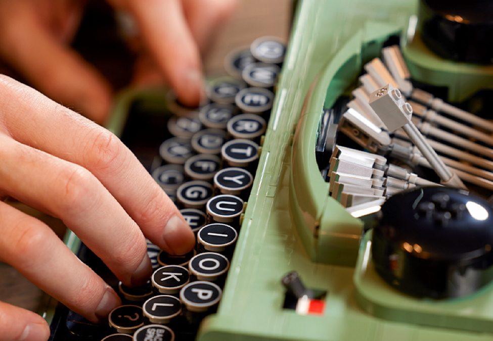 maszyna do pisania LEGO Ideas