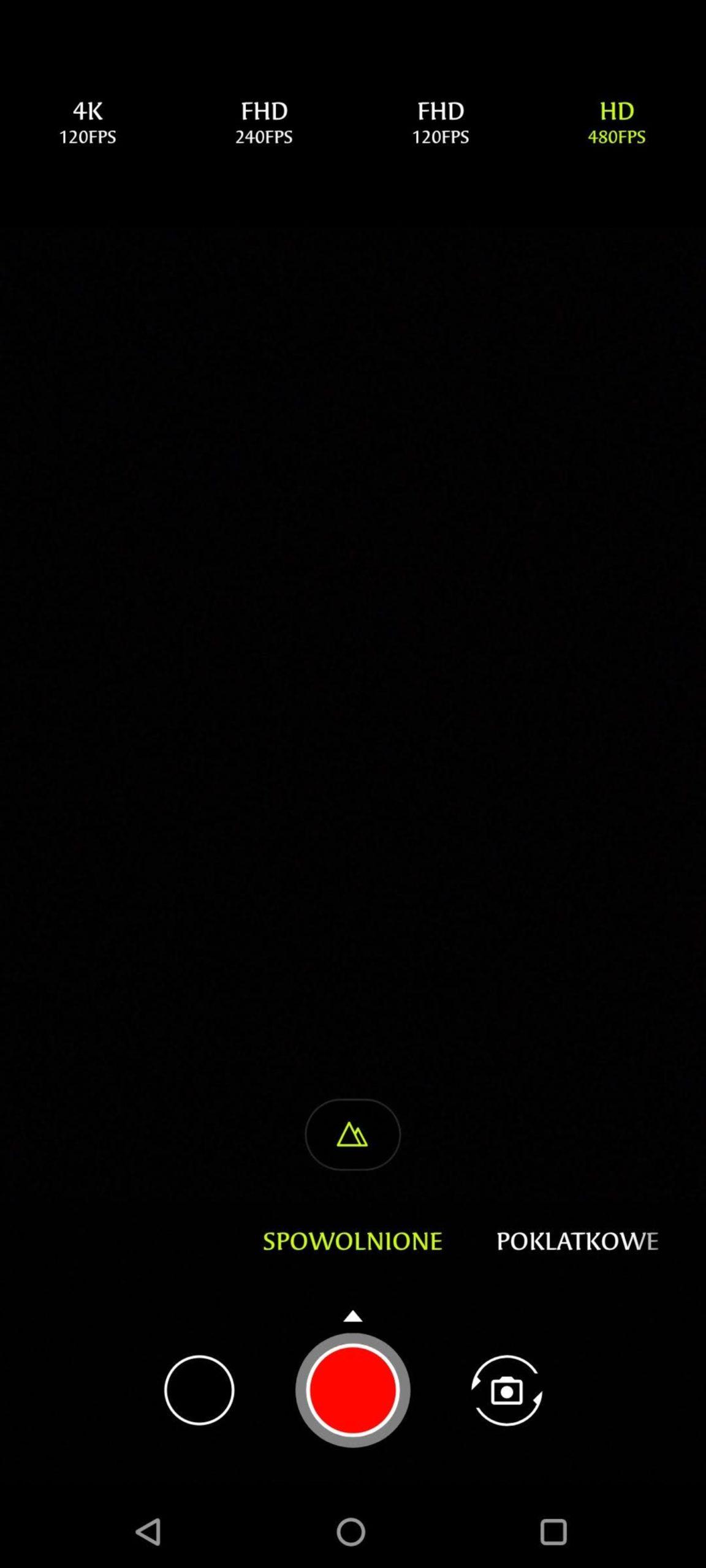 menu wideo spowolnione asus zenfone 8