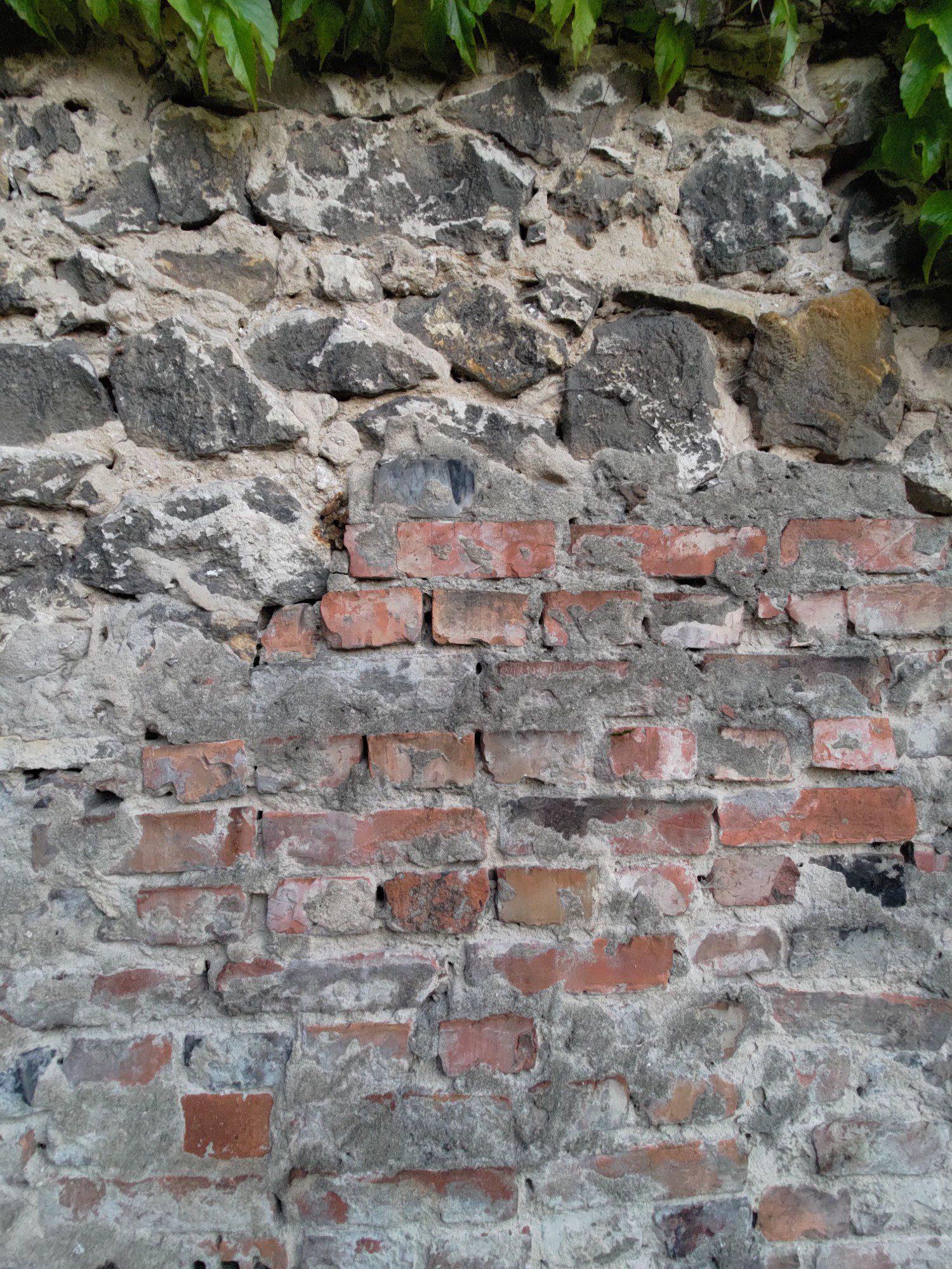 mur zdjęcie szerokokątne aparatem zenfone 8