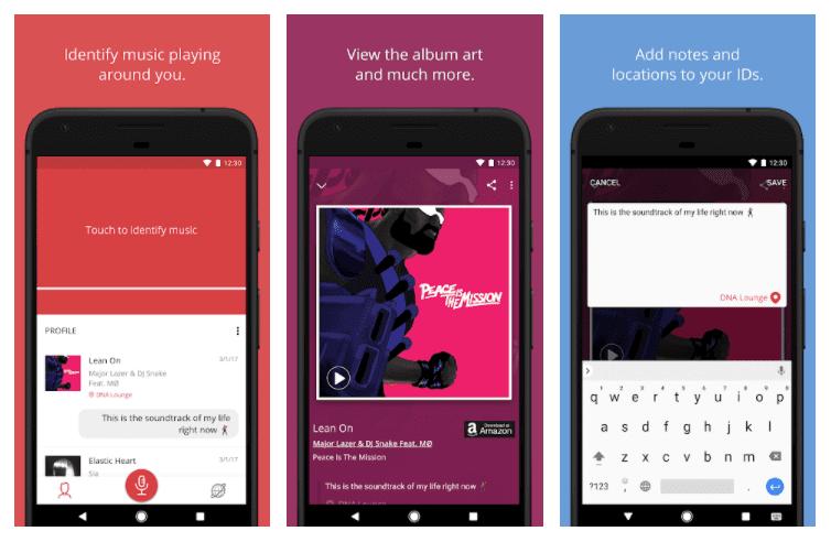 MusicID aplikacja do sprawdzania muzyki