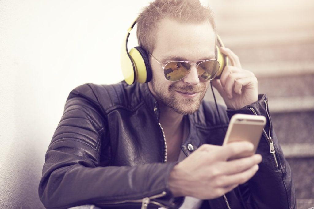 telefon muzyka