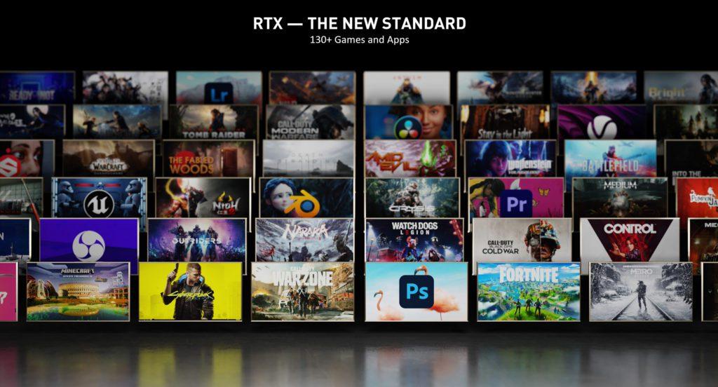 Nowe gry w rodzinie RTX