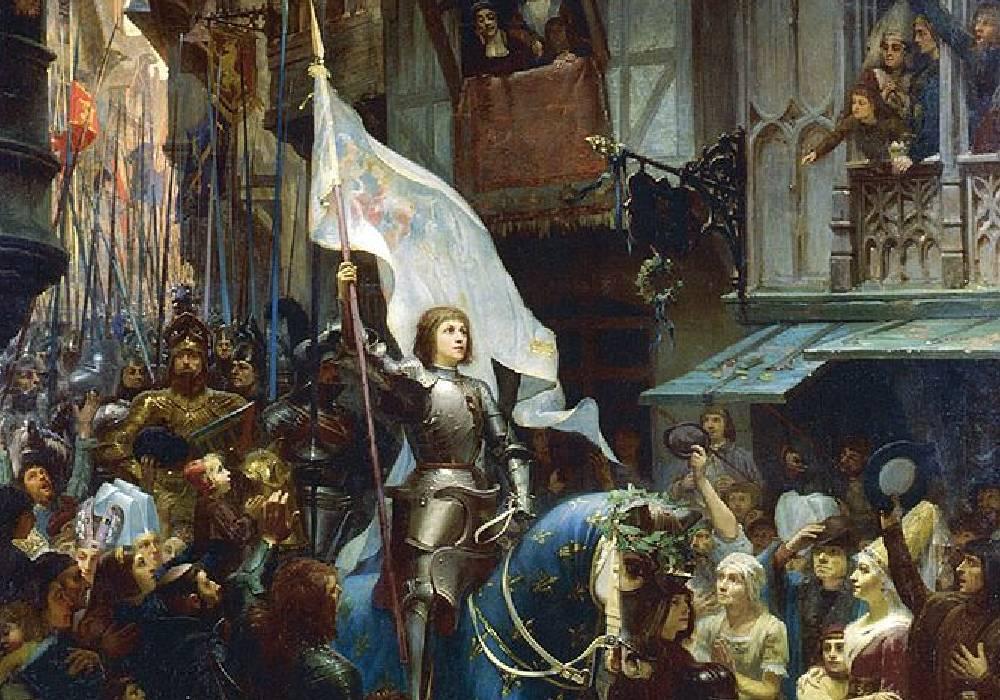 Joanna d'Arc w Orleanie