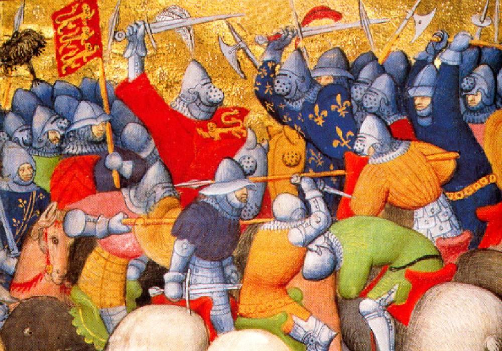 bitwa pod Crécy