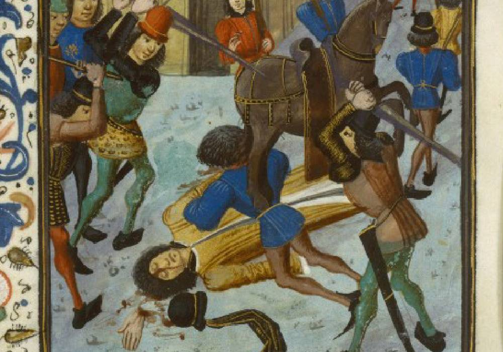 śmierć Ludwika Orleańskiego