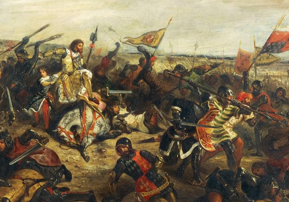 bitwa średniowieczna