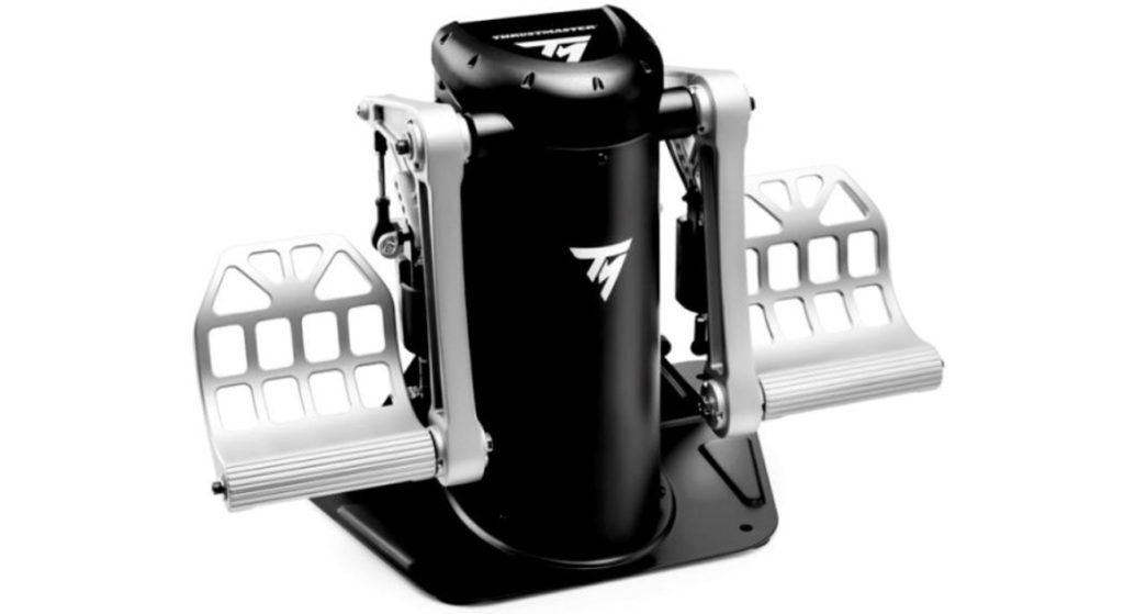 symulator lotu pedały thustmaster tmr tp rudder