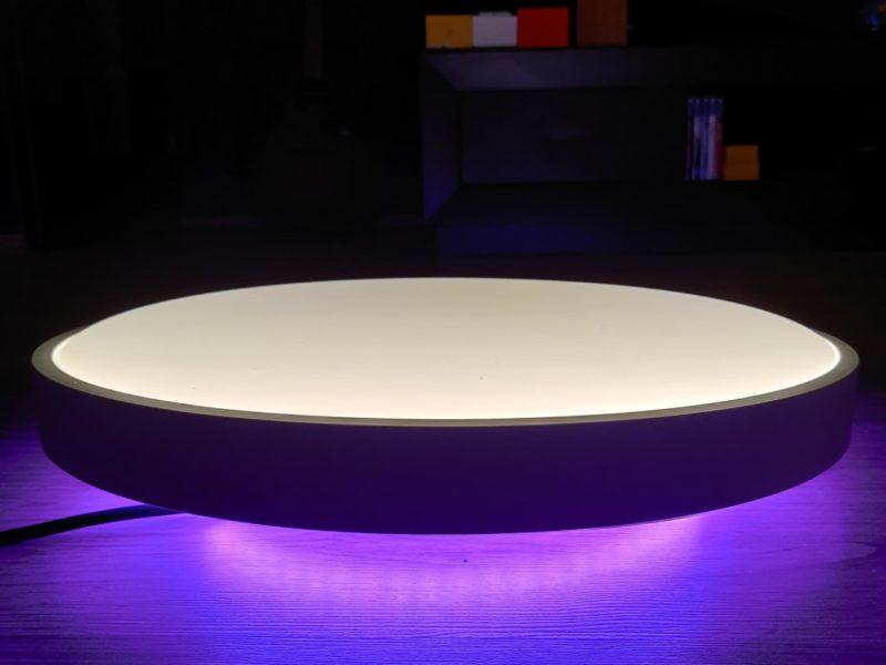 Recenzja lampy sufitowej Yeelight Arwen Ceiling Light 450S – jasna jak słońce, kolorowa jak papuga