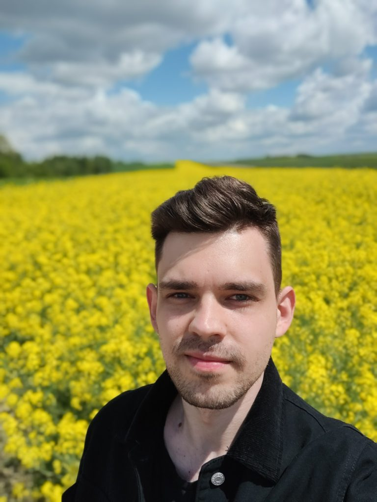 Selfie potret na OnePlus 9 Pro