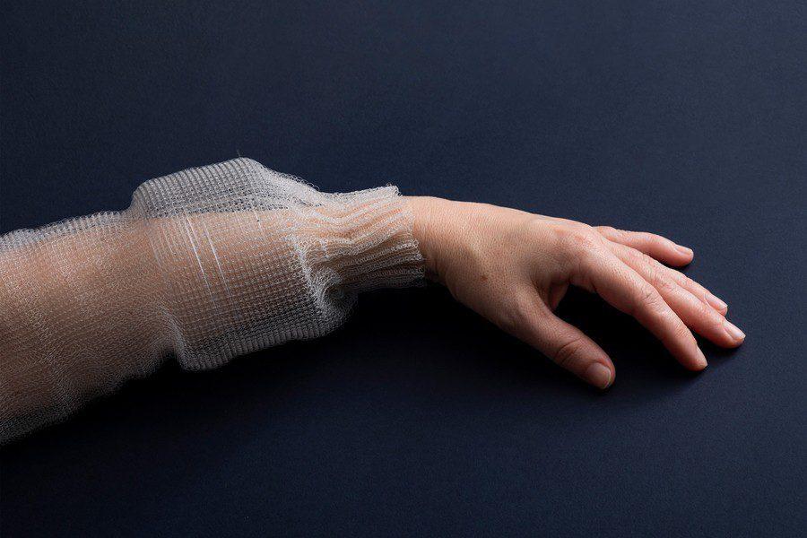 programowalne włókno w rękawie