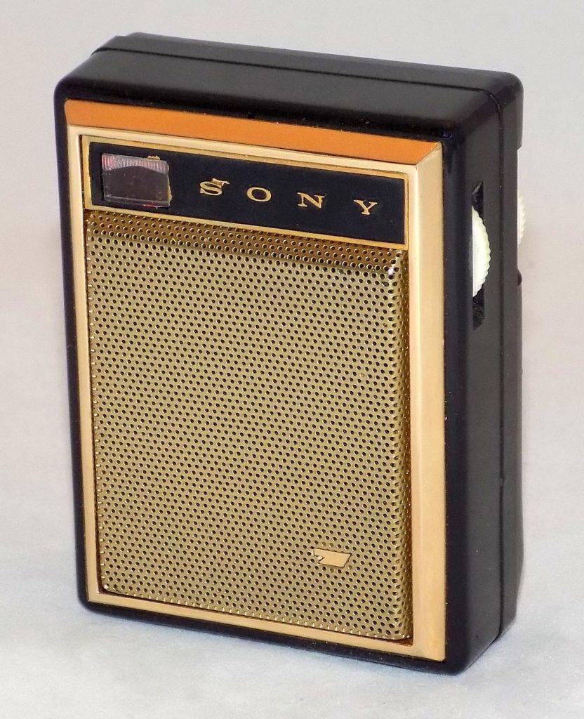 radio tranzystorowe Sony