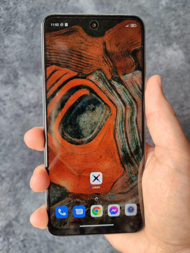Redmi Note 10 5G w ręce