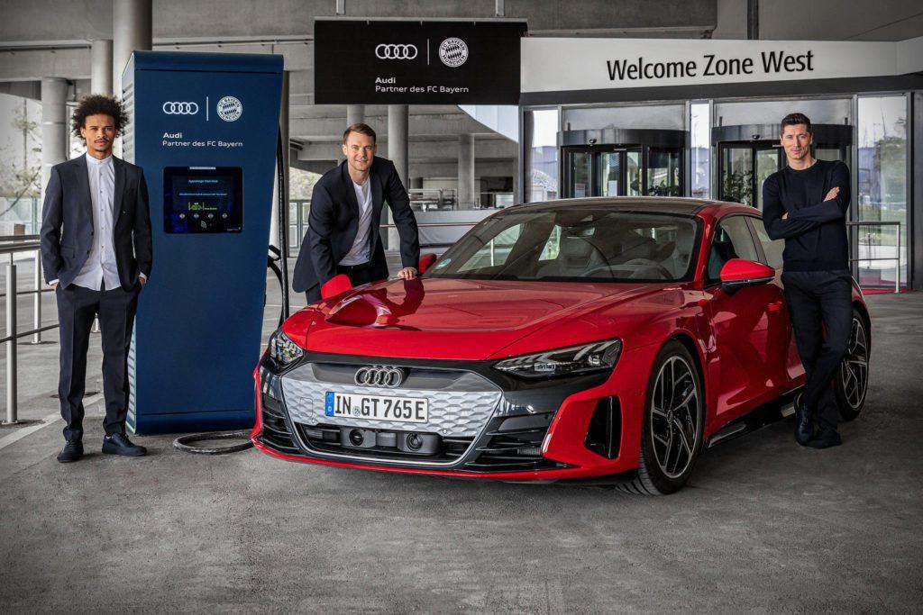 Robert Lewandowski Audi e-tron