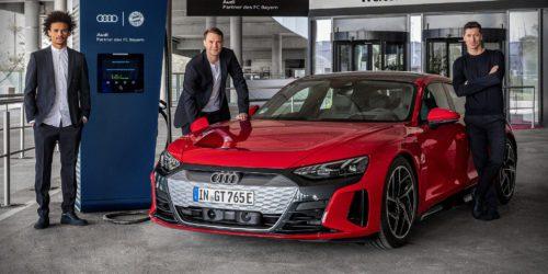 Robert Lewandowski będzie miał gdzie ładować swój samochód elektryczny. Audi postawi ładowarki przy Allianz Arenie