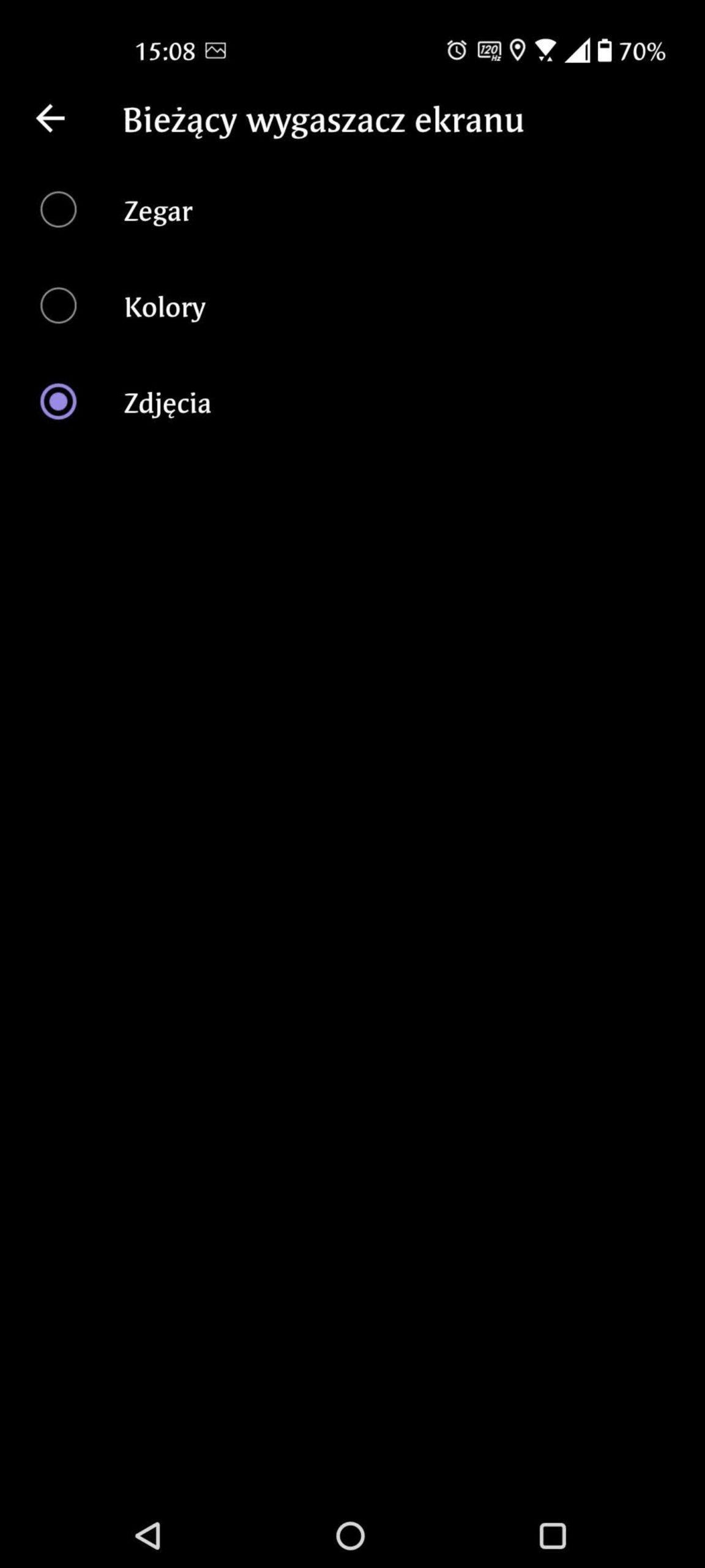 rodzaje wygaszaczy ekranu asus zenfone 8