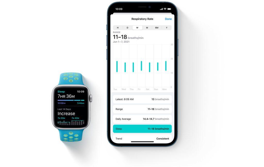 watchOS 8 dla Apple Watch weryfikacja snu