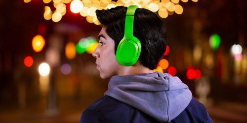 Bezprzewodowe słuchawki Razer Opus X z aktywną redukcją szumów i trybem gamingowym