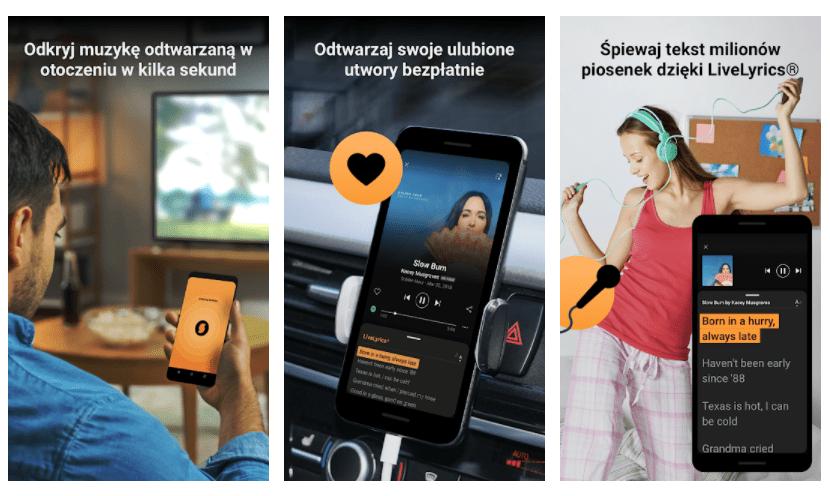 SoundHound aplikacja do identyfikacji muzyki