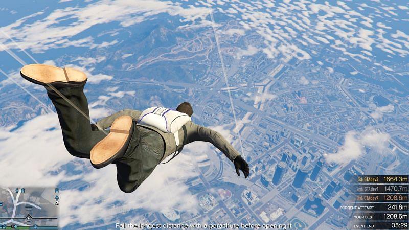 Jak zdobyć spadochron w GTA V? Poznaj wszystkie sposoby