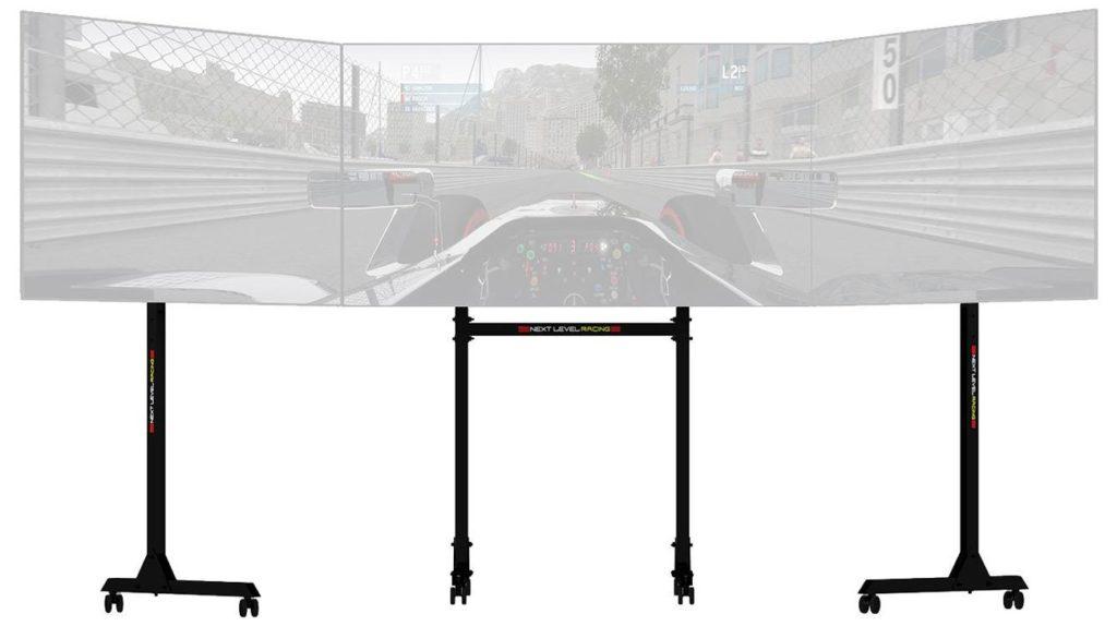 stojak next level racing free standing triple monitor stand