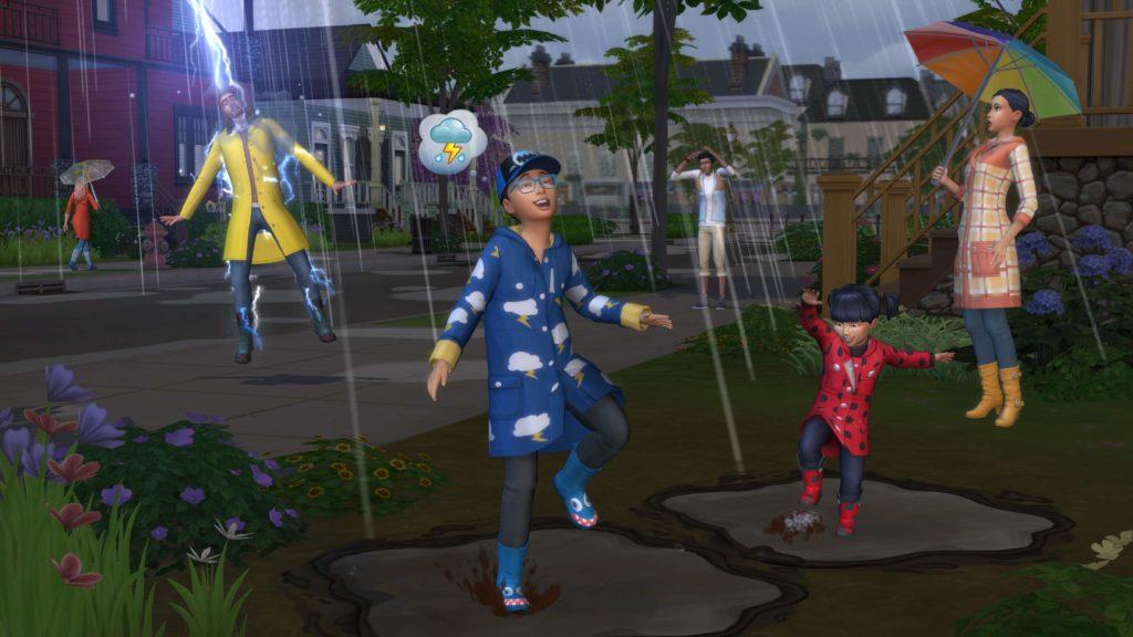 zrzut ekranu z dodatku cztery pory roku the sims 4