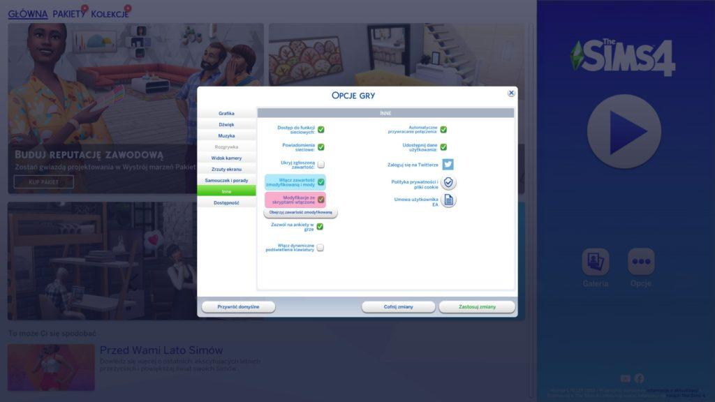 jak zainstalować mody do the sims 4
