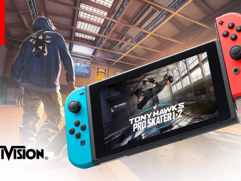 Tony Hawk's Pro Skater 1+2 na Nintendo Switch – poznaliśmy datę premiery