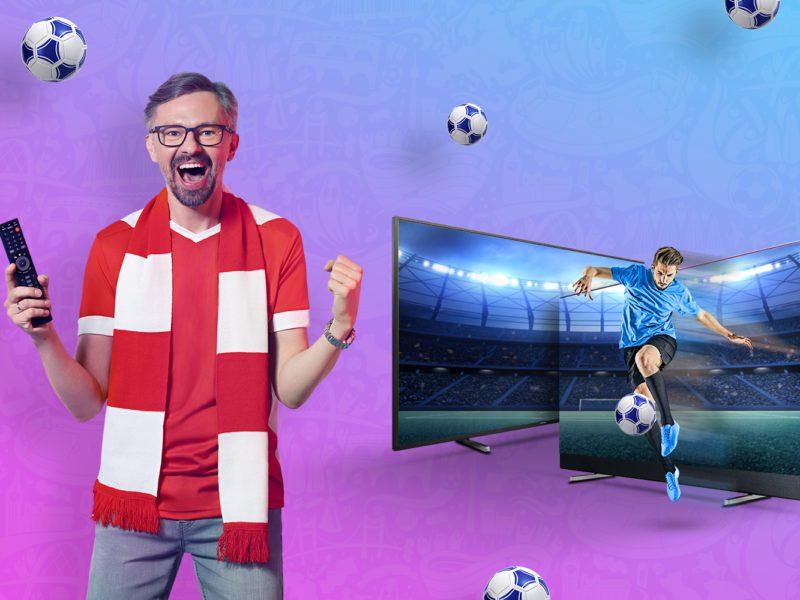 Telewizory z rabatem nawet 400 zł. Przygotuj się na piłkarskie emocje