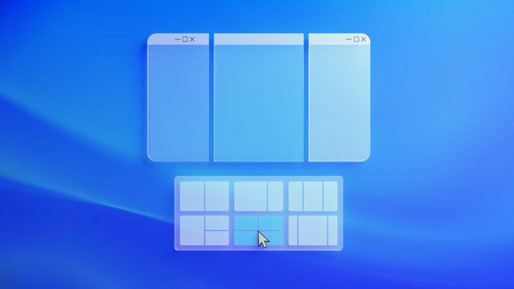 windows 11 dzielenie ekranu
