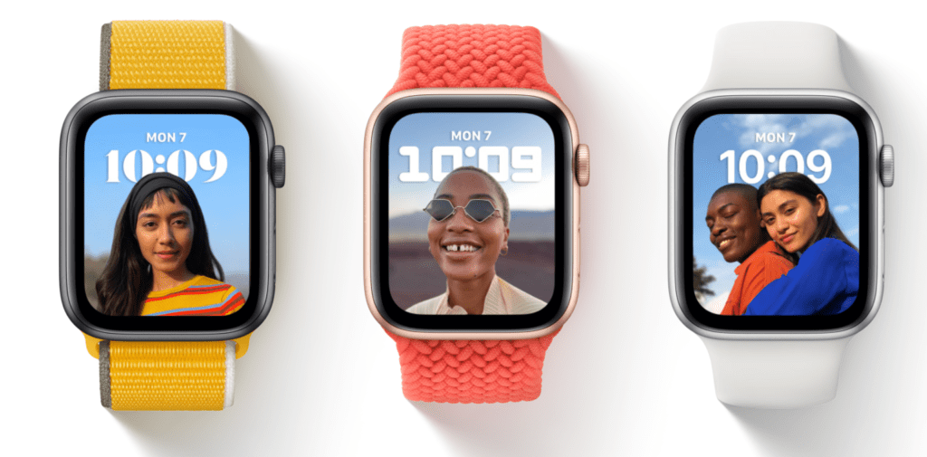 watchOS 8 dla Apple Watch