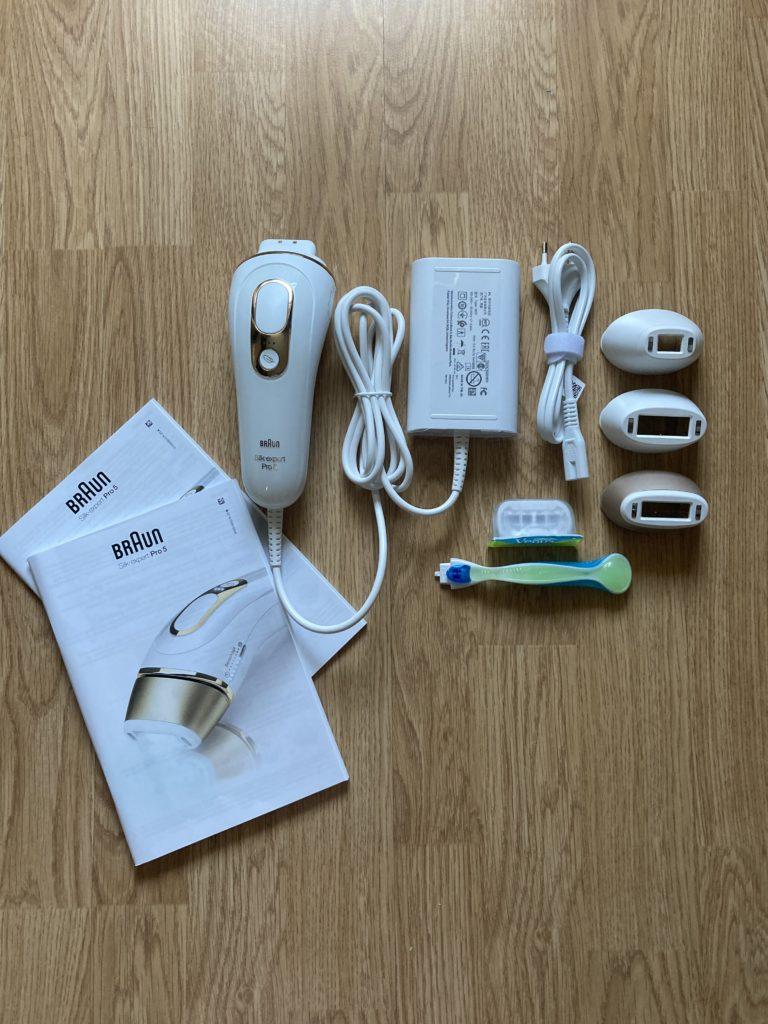 zestaw depilatora Braun Silk-expert Pro 5
