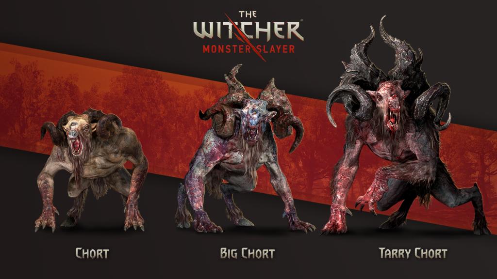 Wiedźmin Pogromca Potworów potwory