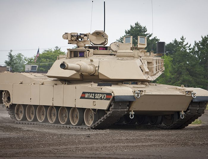Abrams M1A2 SEPv3 poligon