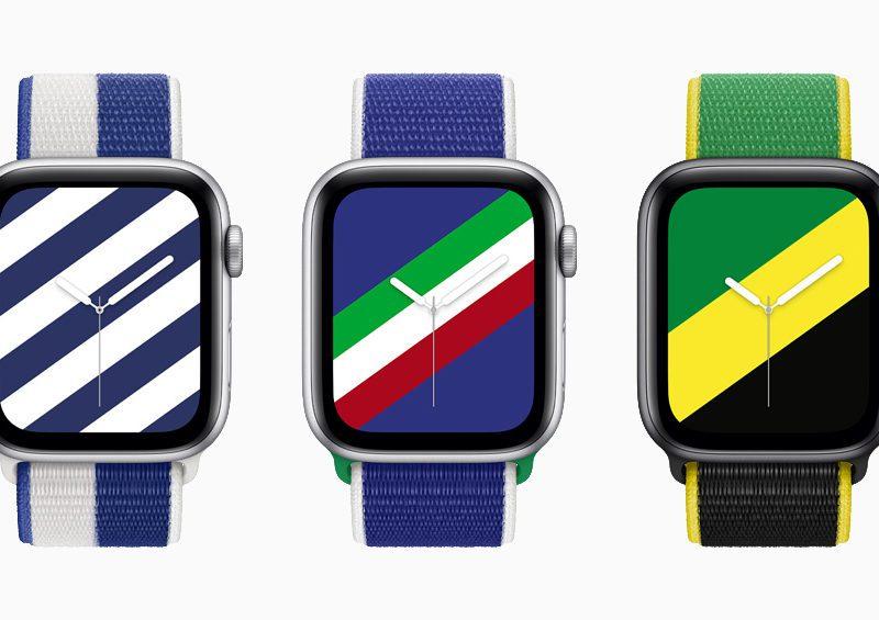 Międzynarodowe opaski Sport Loop i tarcze dla Apple Watch. Czy uwzględniają Polskę?