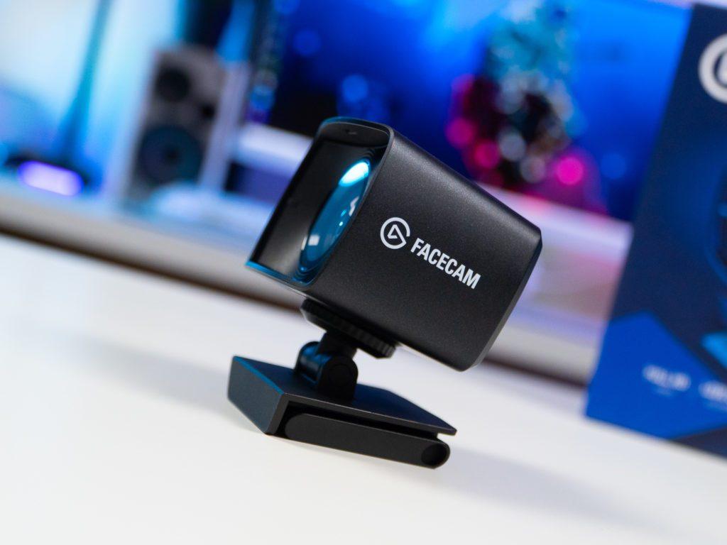 Elgato Facecam body profil webcam