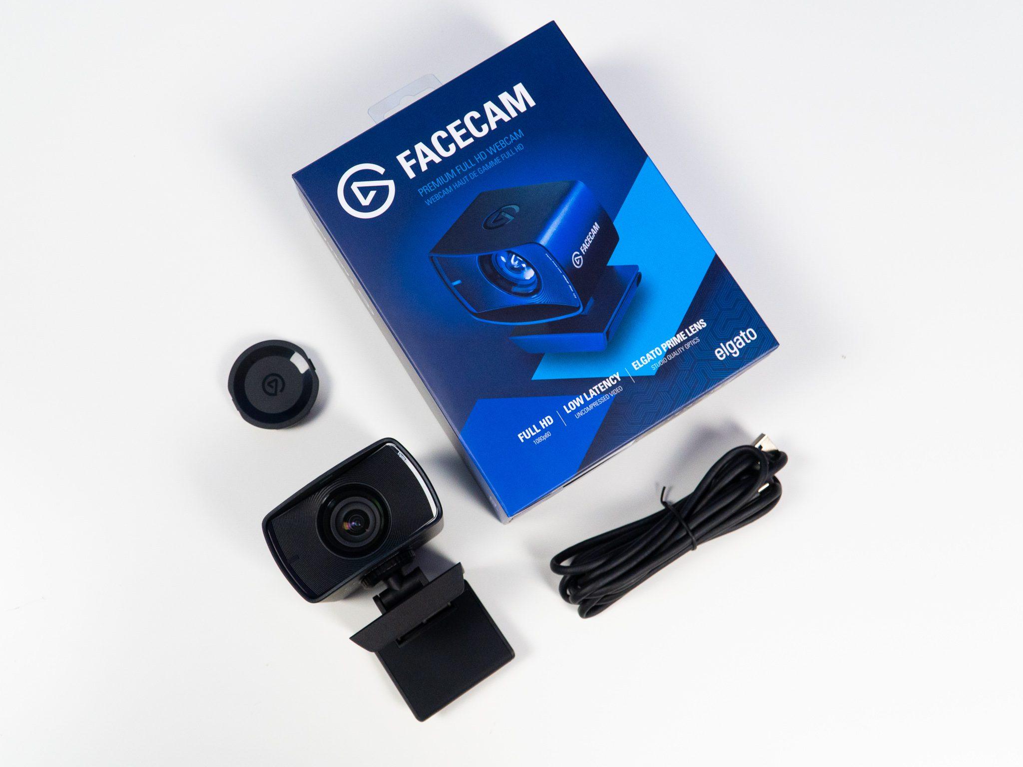 Elgato Facecam zestaw wyposażenie