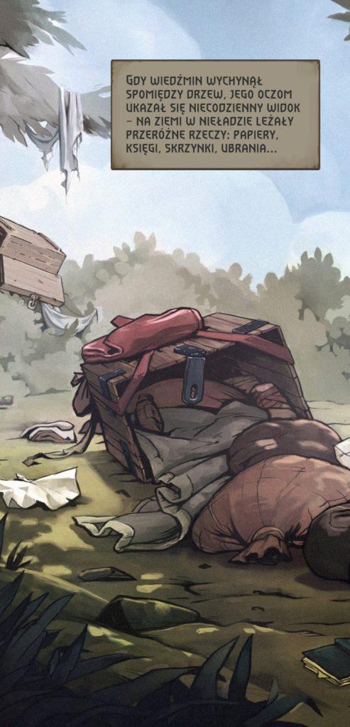 Wiedźmin Pogromca Potworów ilustracja z gry