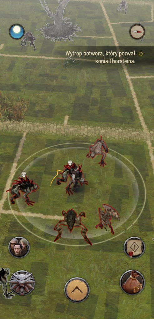 Wiedźmin Pogromca Potworów mapa