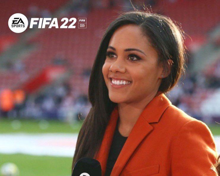 Alex Scott pierwszą komentatorką w historii gry FIFA