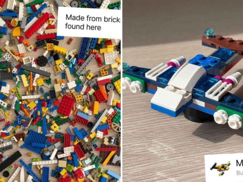Losem rządzi przypadek? Nie w klockach Lego. Aplikacja Brickit daje im drugie życie