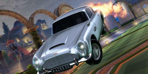 "Aston Martin DB5 Jamesa Bonda wjechał do ""Rocket League"""