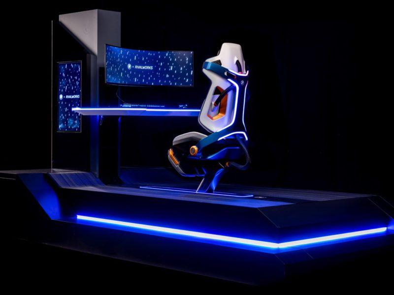 BMW prezentuje koncepcyjny fotel gamingowy. Rival Rig będzie posiadał funkcje masażu i schładzania ciała
