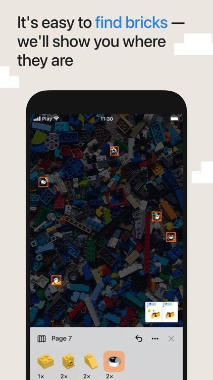 brickit aplikacja do budowania z Lego