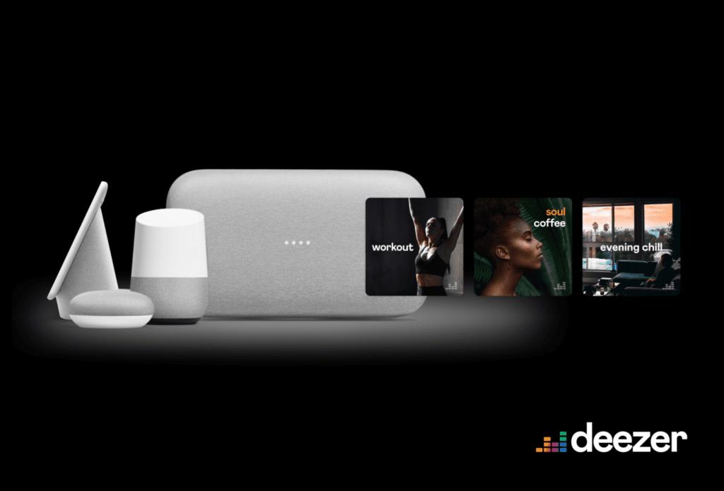 Deezer Free Google Home Nest