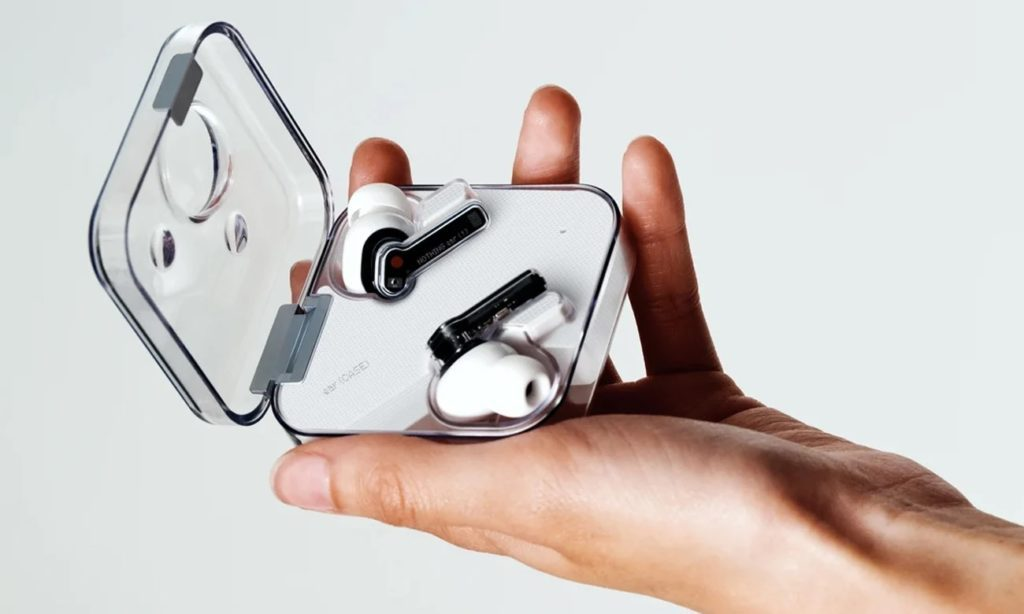 słuchawki nothing ear (1) w etui