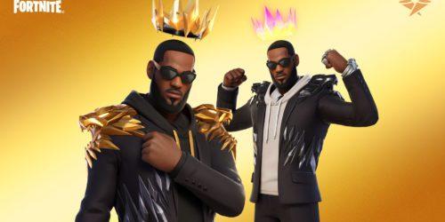 LeBron James dołącza do Fortnite Battle Royale